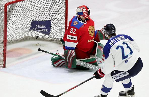 Сборная России проиграла Финляндии в дебютном матче Шведских игр