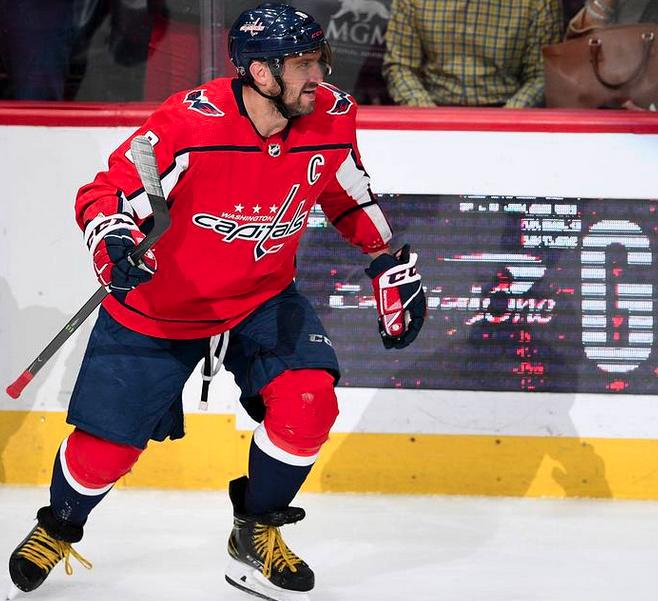 Овечкин вышел на первое место в списке лучших снайперов сезона НХЛ