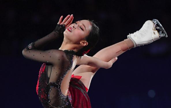 Корейская фигуристка исполнила уникальный для женщин прыжок