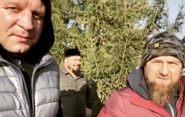 Кадыров провёл тренировку с Александром Емельяненко