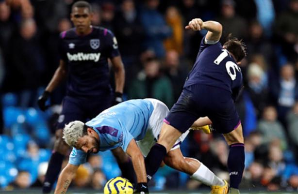«Манчестер Сити» обыграл «Вест Хэм» в матче АПЛ