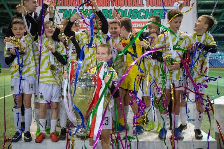 Юные смоленские футболисты приняли участие в турнире «Наше будущее»