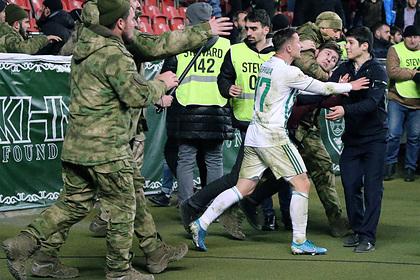 В Чечне оправдали нападение фанатов «Ахмата» на оголившихся болельщиков «Зенита»