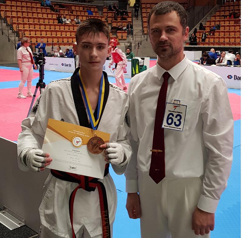 Смолянин выиграл бронзу международного турнира по тхэквондо