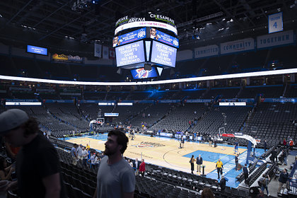 НБА прекратила игровой сезон из-за коронавируса