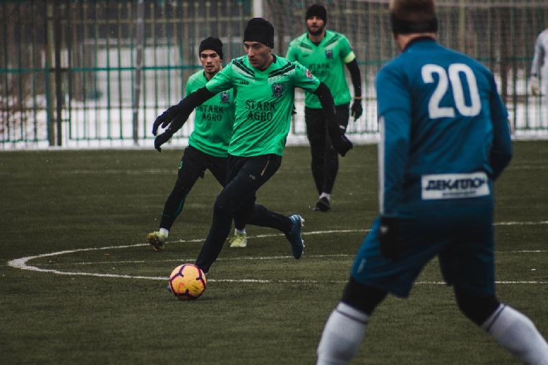 Смоленские футболисты сыграют с «Коломной»