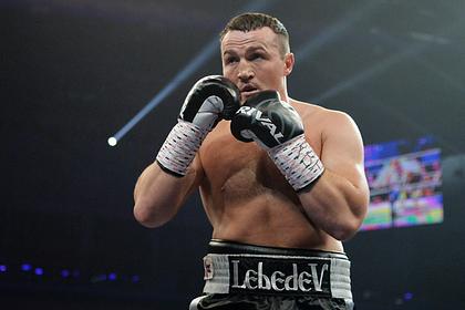 Боксер Лебедев рассказал о поддержке от Путина
