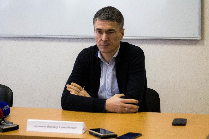 Виктор Булатов рассказал о работе «Красного-СГАФКСТ» в период пандемии