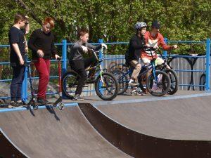 В Смоленске завершили монтаж нового скейт-парка