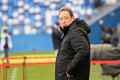 Слуцкий выступил против возвращения российского футбола
