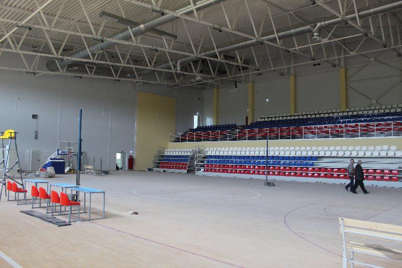 В Смоленской области готовятся к сдаче спортивного долгостроя