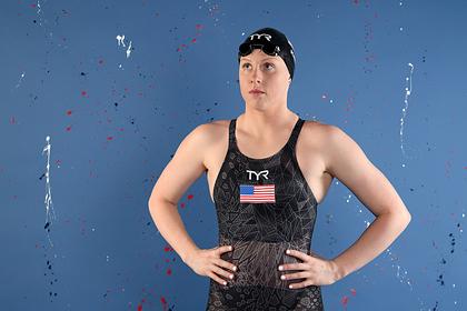 Двукратной олимпийской чемпионке по плаванию пришлось тренироваться в пруду