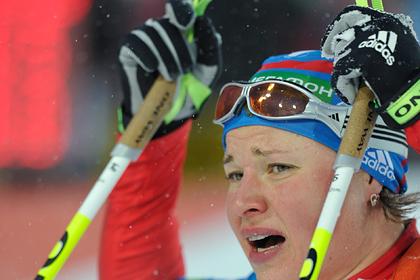 Двукратная олимпийская чемпионка назвала российский биатлон адской бомбой