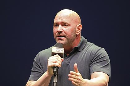 Глава UFC рассказал о сложностях в проведении поединков с россиянами