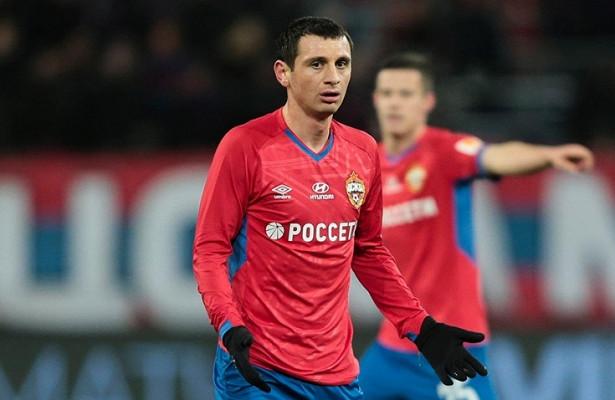 Алан Дзагоев получил травму бедра на тренировке ЦСКА