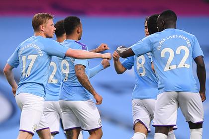 «Манчестер Сити» разгромил «Арсенал» в матче АПЛ