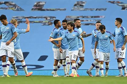 «Манчестер Сити» забил пять безответных мячей середняку АПЛ