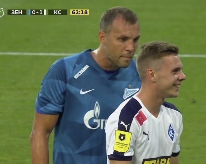 Смоленский футболист рассказал, насколько сложно играть против «Зенита»