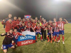 Президент НСФЛ оценил успехи смоленского студенческого футбола