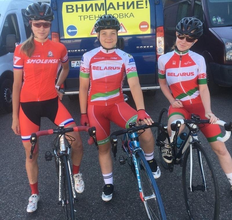 Смоленская велосипедистка приняла участие в первенстве Республики Беларусь