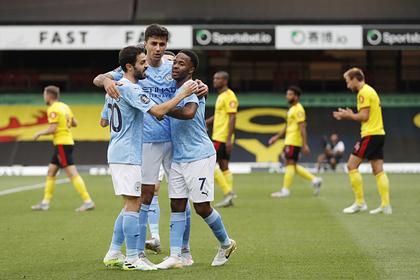 «Манчестер Сити» разгромил аутсайдера АПЛ