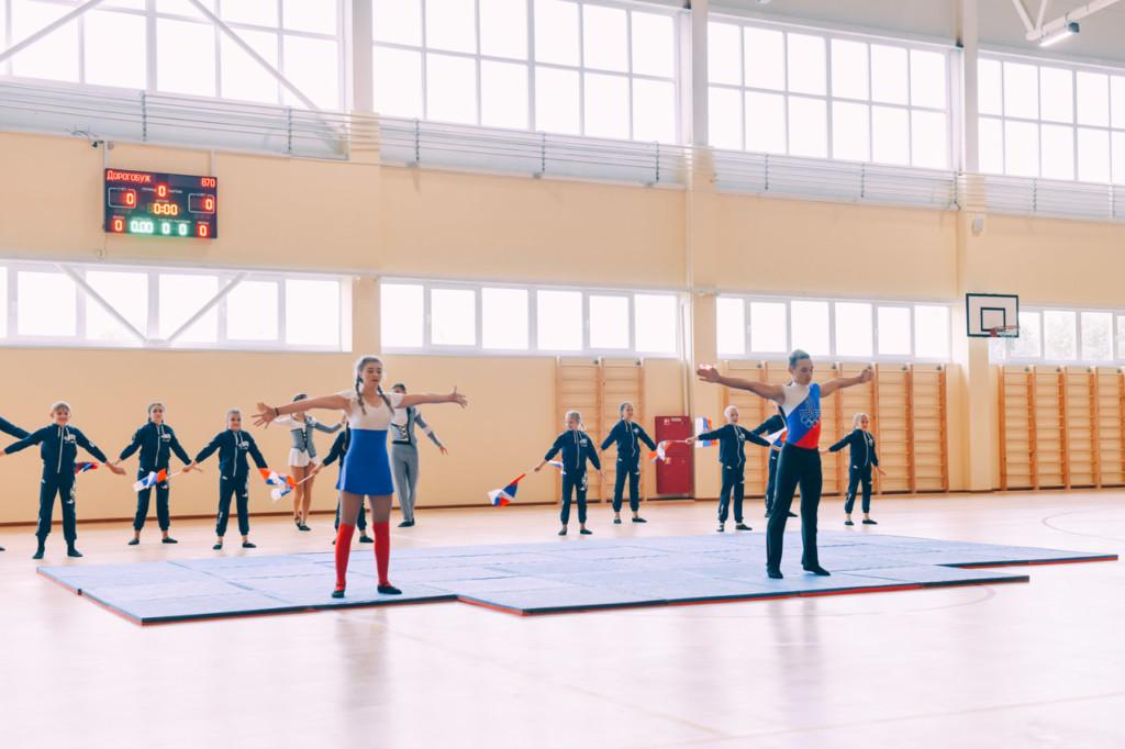 В Дорогобуже открыли новый физкультурно-оздоровительный комплекс
