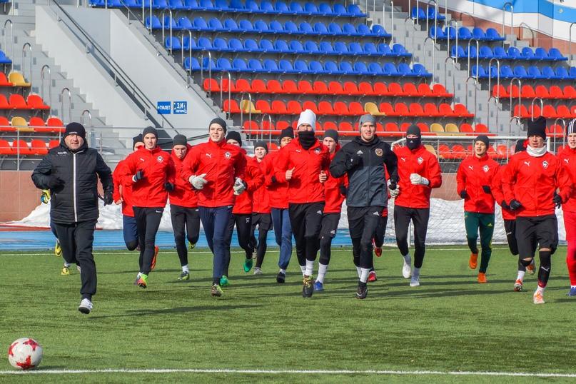 ФК «Смоленск» проиграл в первом официальном матче в истории
