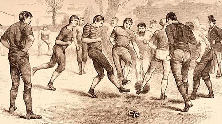 Как зародился футбол. История футбола