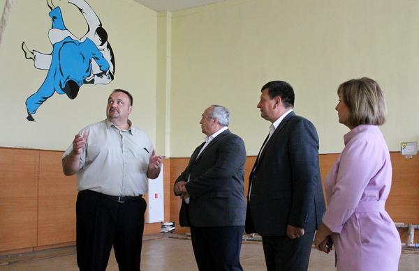 Под Смоленском откроют после ремонта зал для занятий дзюдо