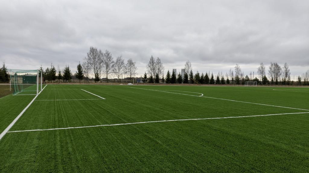 Футбольный стадион в Красном приведут в соответствие с международными стандартами