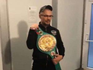Смоленский тренер Александра Поветкина примерил чемпионский пояс