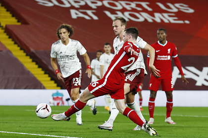 «Ливерпуль» одержал волевую победу над «Арсеналом» в центральном матче тура АПЛ