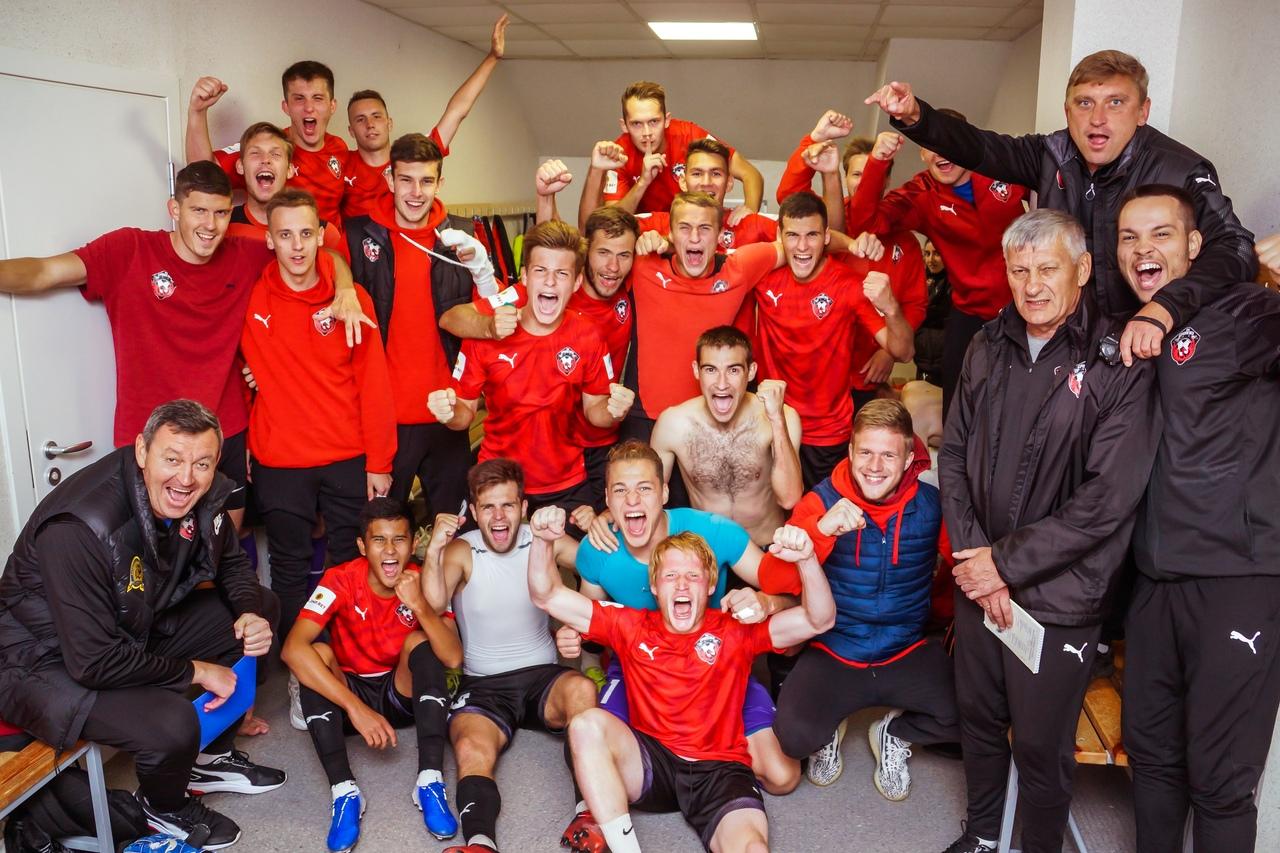 ФК «Смоленск» разгромил команду из Читы