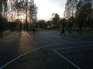 В смоленской деревне обустроили спортивную площадку