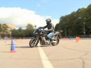 В Смоленске прошли вторые крупные соревнования по мотоджимхане