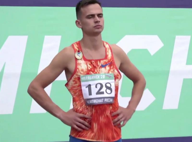 Спринтер, представляющий Смоленскую область удивил на чемпионате России по легкой атлетике