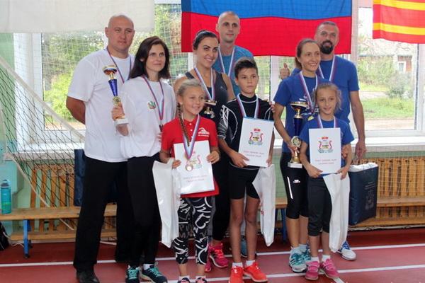 Семья сотрудника исправительной колонии №6 стала одной из самых спортивных в Смоленской области