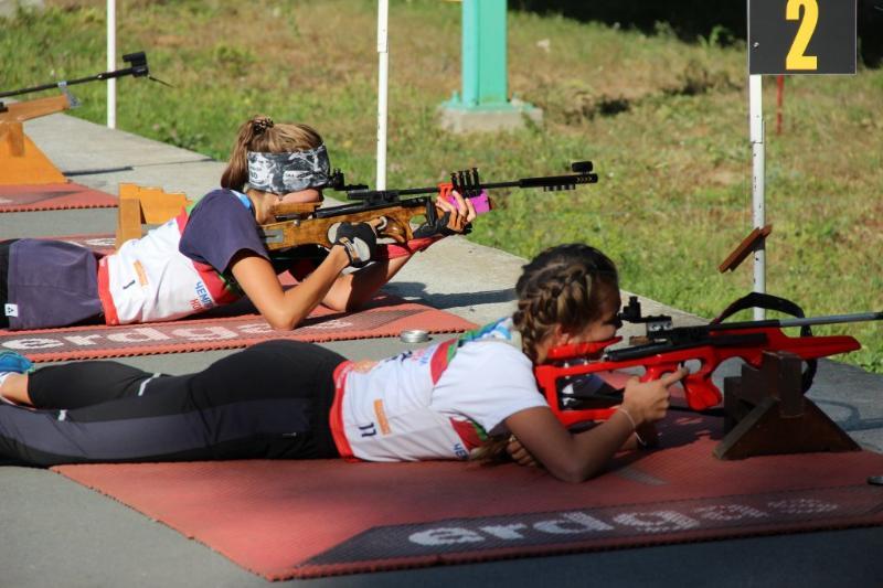 Смоленские биатлонистки завоевали награду на первенстве России