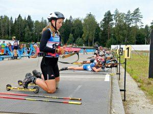 За красивый финал. Смолянка в напряженной гонке выиграла медаль на первенстве России по биатлону
