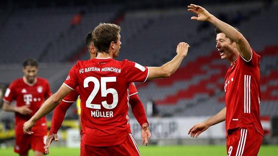 «Бавария» выиграла Суперкубок Германии в последнем матче женщины-арбитра Штайнхаус