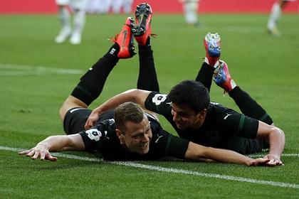 «Краснодар» забил семь голов и разгромил «Химки»