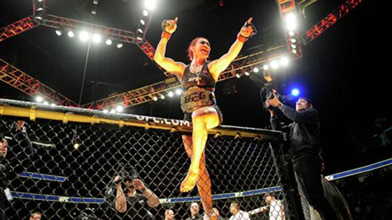 Экс-чемпионка UFC Сайборг защитила титул Bellator