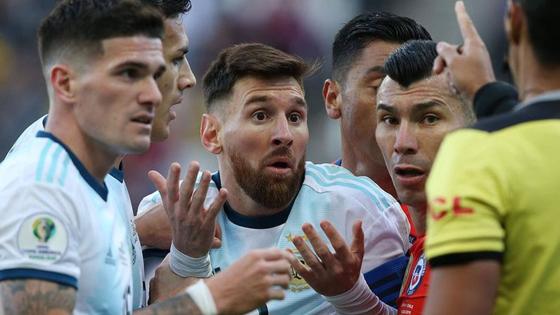 Месси забил за сборную Аргентины впервые с июля 2019 года