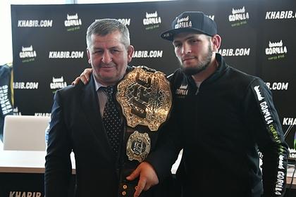 Глава UFC допустил возвращение Нурмагомедова ради отца