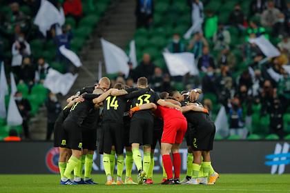 В УЕФА прокомментировали отказ футболистов «Краснодара» преклонить колени