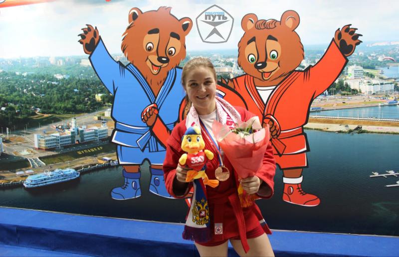 Смоленская самбистка привезла «бронзу» чемпионата мира. Как это было