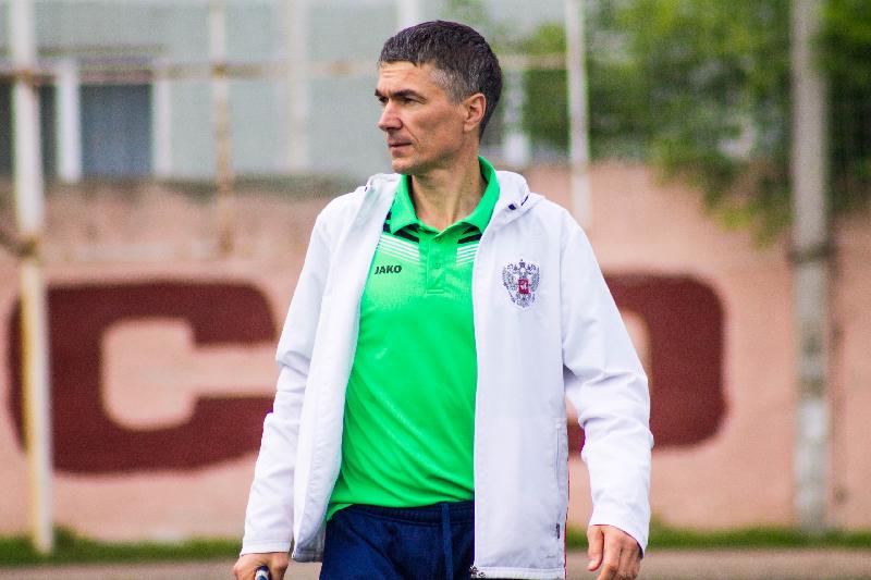 Виктор Булатов рассказал, чего не хватило для победы смоленскому футбольному клубу «Красный» в матче против «Сокола»