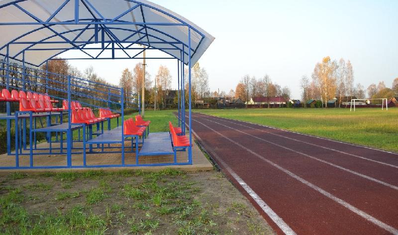 В смоленском селе отремонтировали стадион