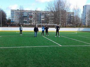 Под Смоленском отремонтировали школьный стадион