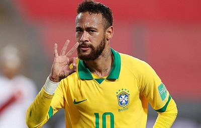 Неймар пропустит ближайшие игры сборной Бразилии из-за травмы